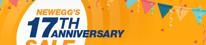 Newegg 17th Anniversary Sale