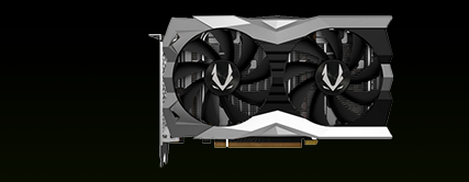 ZOTAC GAMING GeForce RTX 2060 Twin Fan 6GB GDDR6 192-bit Gaming Graphics Card, Super Compact, IceStorm 2.0, ZT-T20600F-10M