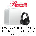 Rosewill - PDXLAN Special Deals. Up To 30% Off With Promo Code.