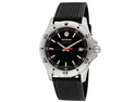 Movado Series 800 Black/Orange Dial Mens Watch 2600099