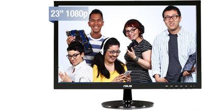 "ASUS VS Series VS238H-P Black 23"" 2ms HDMI LED Backlight Widescreen LCD Monitor"