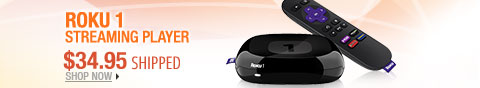 Newegg Flash - Roku 1 Streaming Player.