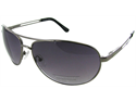 Kenneth Cole Reaction - KC1069 Gunmetal Aviator Sunglasses