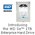 Introducing the WD Se 1TB Enterprise Hard Drive.
