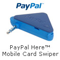 Paypal Here Mobile Card Swiper.