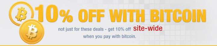 10% OFF WITH BITCOIN<br />