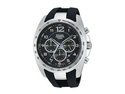 Pulsar On The Go Chronograph Silicone - Black Men's watch #PT3621