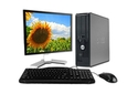 Refurbished: Dell Optiplex 780 SFF Desktop Package - 3.0GHz Core 2 Duo, 4GB, 250GB, DVD - Windows 7 Professional – 19 inch LCD