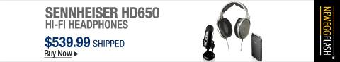 Newegg Flash � Sennheiser HD650 Hi-Fi Headphones