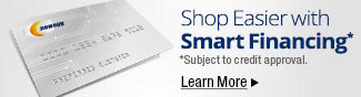 Shop Easier with Smart Financing