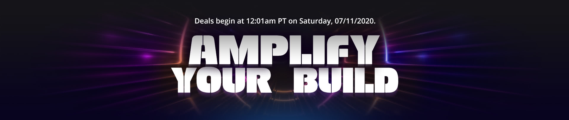 Amplify your Build