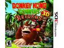 Donkey Kong Country Returns 3D Nintendo 3DS Game Nintendo