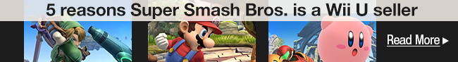 5 reasons Super Smash Bros. is a Wii U seller.