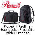Rosewill Redline Backpacks. Free Gift With Purchase.
