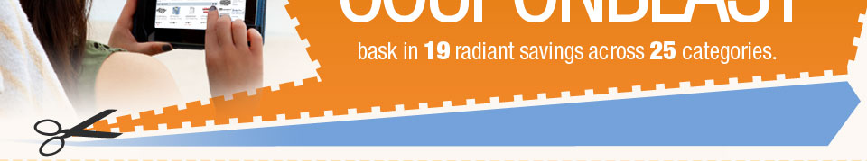 bask in 19 radiant savings across 25 categories.