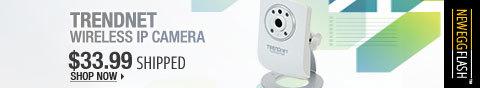 Newegg Flash - TRENDnet Wireless IP Camera.