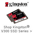 Shop Kingston V300 SSD Series.