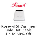 Rosewill Summer Sale Hot Deals Up To 60% Off.