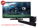 KEF V720W Digital TV Sound Bar System with Wireless Subwoofer