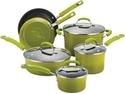 Rachael Ray 10-pc. Nonstick Cookware Set, Green