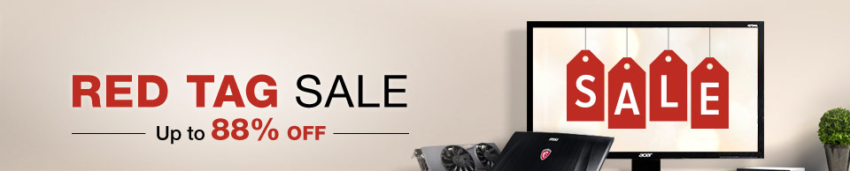 RED TAG SALE
