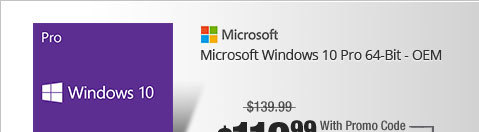 Microsoft Windows 10 Pro 64-Bit - OEM