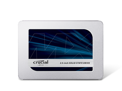Crucial MX500 2.5-inch 500GB SATA III 3D NAND Internal Solid State Drive (SSD) Deals