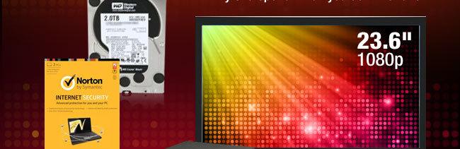 HDD, Norton, LCD