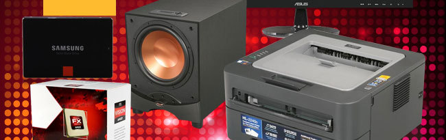 SSD, Speaker, Printer, CPU
