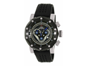 Swiss Precimax Men's Vector Pro Sport SP13088 Black Silicone Swiss Chronograph Watch with Black Dial