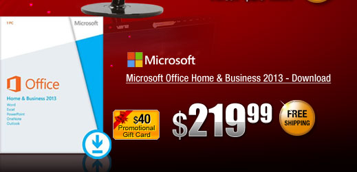 Microsoft Office Home & Business 2013 - Download