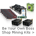 Be Your Own Boss Shop Mining Kits.