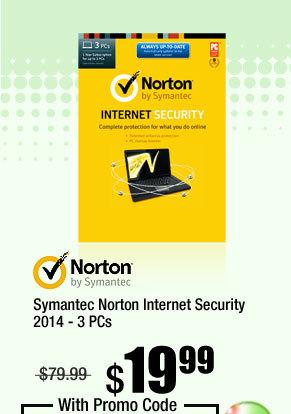 Symantec Norton Internet Security 2014 - 3 PCs