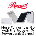 More Fun On The Go With The Rosewill Powerbank Series!