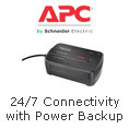 APC - 24/7 Connectivity With Power Backup.