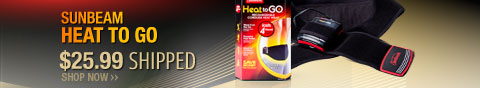 Newegg Flash - Sunbeam Heat to Go.