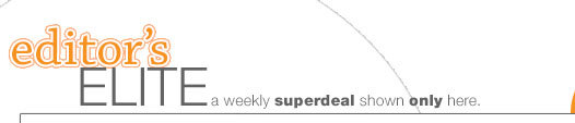EDITOR'S ELITE: