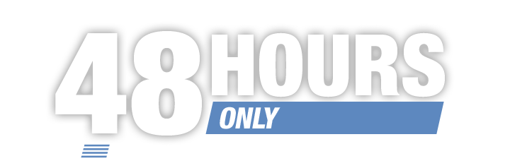 Deals begin at 12:01AM PT on Tuesday, 3/17/2015. 48 HOURS ONLY. 2 days of deal madness…are you prepared to score?