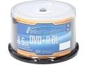 Optical Quantum 8.5GB 8X DVD+R DL White Inkjet Hub Printable 50 Packs Spindle Disc