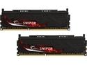 G.SKILL Sniper Series 16GB (2 x 8GB) 240-Pin DDR3 SDRAM DDR3 1600 (PC3 12800) Intel Z87/ Z77/ Z68/ P67 Memory