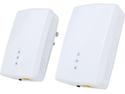 ZyXEL PLA5405KIT HomePlug AV2 MIMO 1200 Mbps Powerline Gigabit Ethernet Adapter Kit