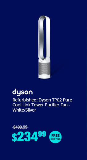 Refurbished: Dyson TP02 Pure Cool Link Tower Purifier Fan - White/Silver
