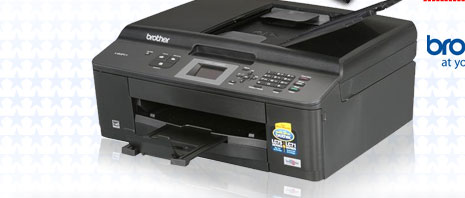 Brother MFC series MFC-J425w Black Print Speed Color Print Quality Wireless InkJet MFC / All-In-One Color Printer