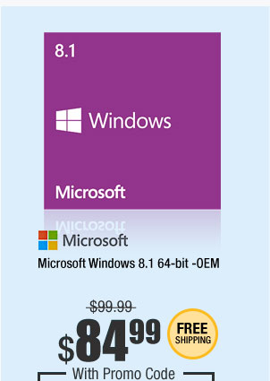Microsoft Windows 8.1 64-bit -OEM