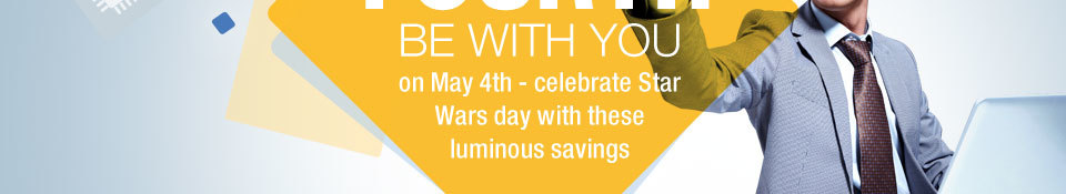 be with you on May 4th - celebrate Star Wars day with these