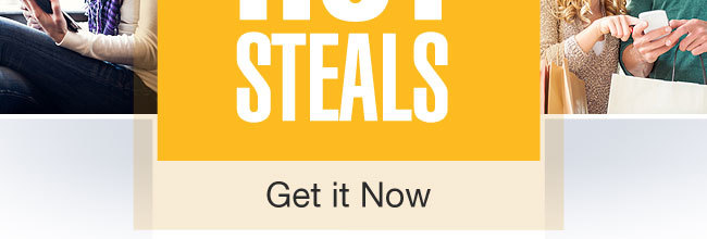 Memorial weekend Hot Steals- Get it Now