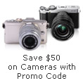 Save 50 On Cameras With Promo Code.