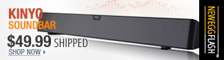 Newegg Flash - Kinyo Soundbar