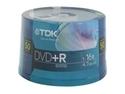 TDK 4.7GB 16X DVD+R 50 Packs Spindle Disc Model 48519