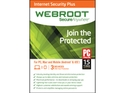 Webroot Internet Security Plus 2015 3 Devices - Download
